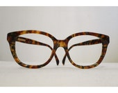 SALE Big Gucci Very Faux Tortoise Shell Horn Rimmed Eyeglasses Frames, Hip Hop//New Wave//Director//Architect Prescription Sunglasses