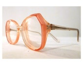 Rodenstock Coral Salmon Pink Supermodel Glam Rock Eyeglass Frames, Sunglasses