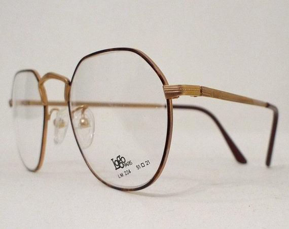 Big Harry Potter 1970s Eye Glasses Frames, UNisex, France, Tortoise Shell Effect  Eye or Sunglasses. John HUghes, Art Deco Inspired