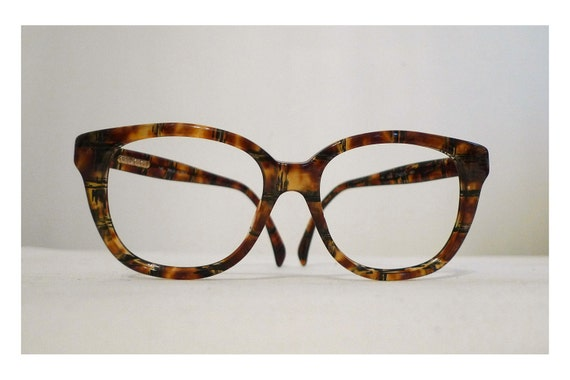 SALE Big Gucci Very Faux Tortoise Shell Horn Rimmed Eyeglasses