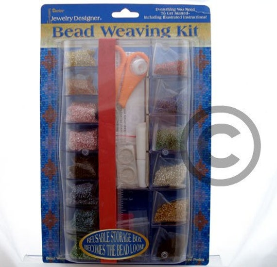 bead weaving starter kit tutorial with loom