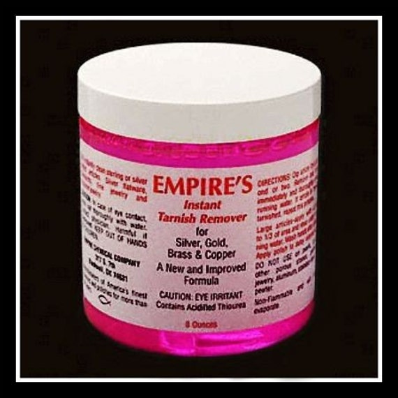 Empires Instant Tarnish Remover Quickly Cleans Silver Gold BRASS Copper
