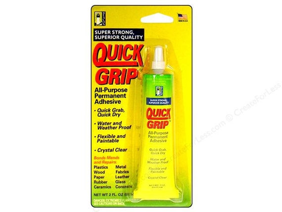 Quick Grip Glue Permanent Adhesive 2 Oz