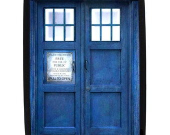 Blue Police Call Box - Protective Sleeve for Kindle and E-Readers