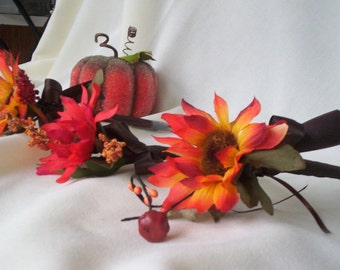 Autumn Wedding Flower Pen Guest Book Signing Pen wedding reception accessories bridal decorations