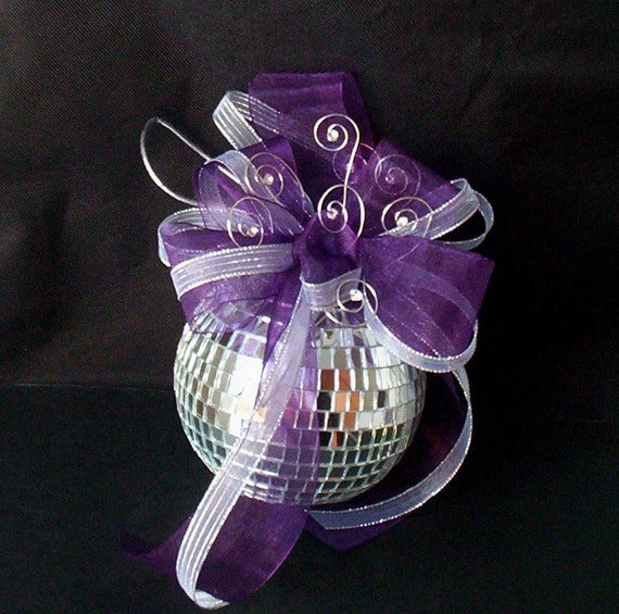 Disco Ball Party Decorations: Wedding Cake Mirror Disco Ball Cake Topper Decoration New