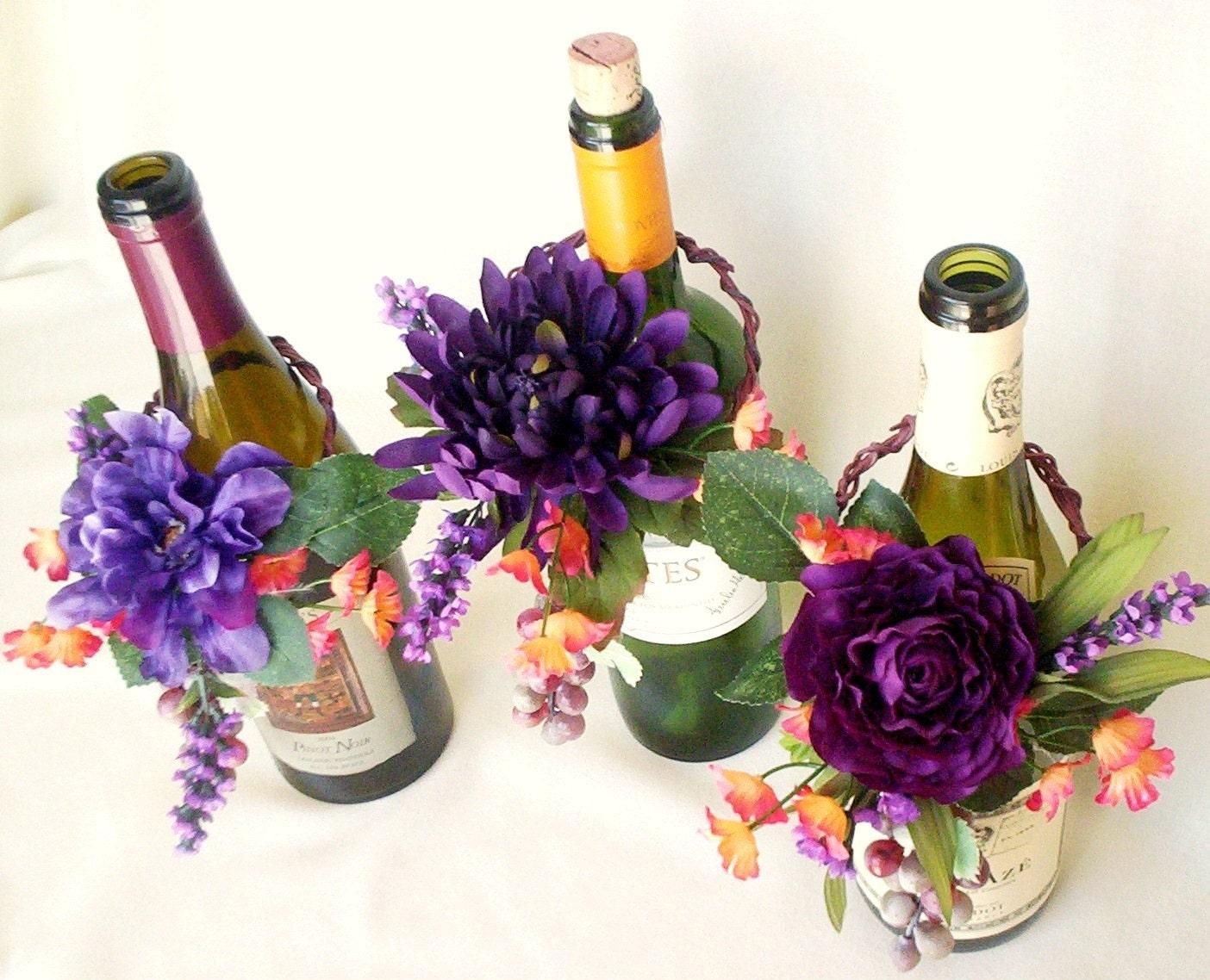 weddings wine bottle toppers vineyard weddingcenterpieces. Black Bedroom Furniture Sets. Home Design Ideas