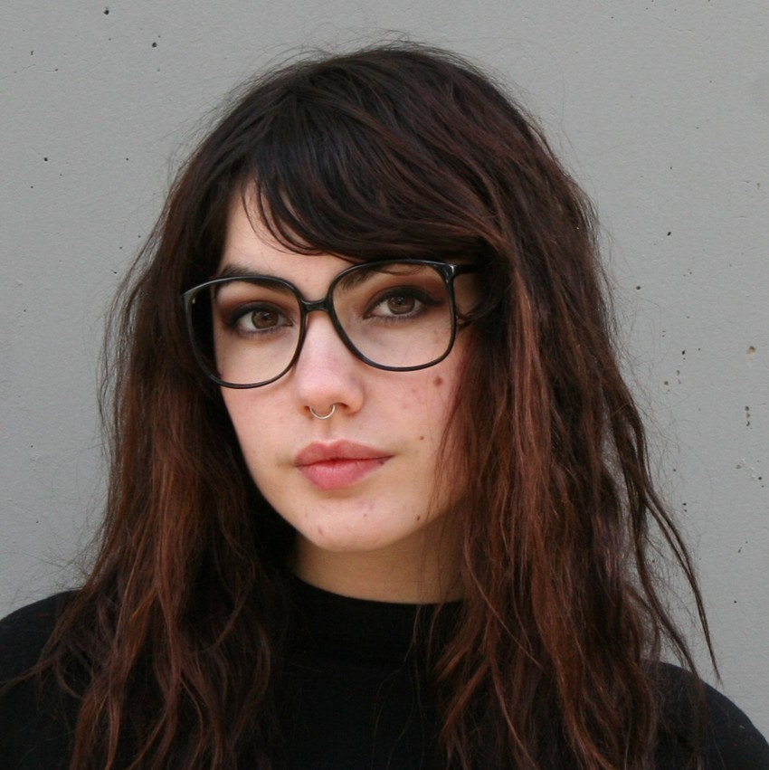 oversized glasses frames zoom