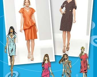 Misses Dresses - Simplicity 1798 - New Sewing Pattern Sizes 12, 14, 16, 18, and 20
