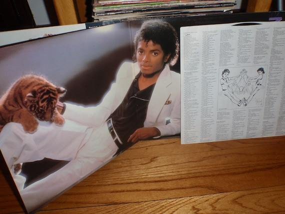 Vintage Michael Jackson Album,Thriller, The Girl is Mine