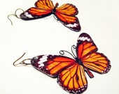 The Monarch Butterfly Statement Earring
