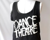 80's Vintage  DANCE Cropped  Tank Top