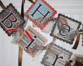 HAPPY BIRTHDAY Banner Party Decoration FOOTBALL Sports Theme
