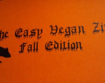The Easy Vegan Zine Fall Edition