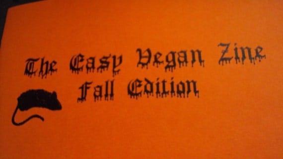 The Easy Vegan Zine Fall Edition