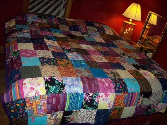 FOR DANA custom order flannel quilt deposit of 50 dollars reserved do not buy