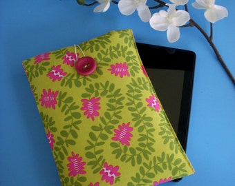 SALE Fabric Sleeve for Tablets or Readers