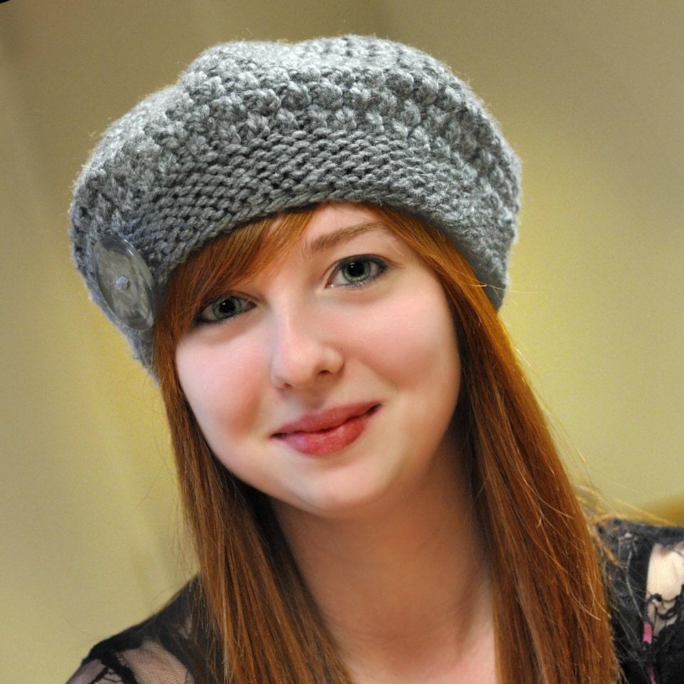 Seamless Alpaca Beret Knitting PATTERN Size Teen-Adult by ...