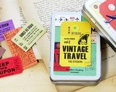 Travel Sticker Tag Vintage Style Vol 2