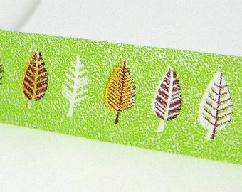 Green Leaves Tape Paper Washi