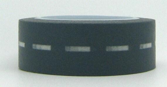 Washi Masking Tape Road Trip Gray