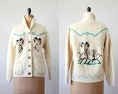 vintage 1960's cowichan ram sweater