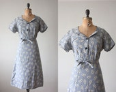 1950s dress - vintage 1950's paisley print day dress