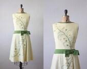 1960s dress - vintage 1960's jardin cocktail dress