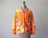 1970's vera sunrise blouse