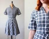 1950's dress - plaid shirtdress
