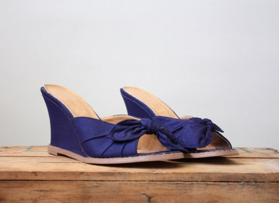 RESERVED. 1950's nautical wedges size 7