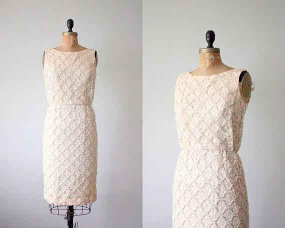 vintage 1960's sweet ivy cocktail dress