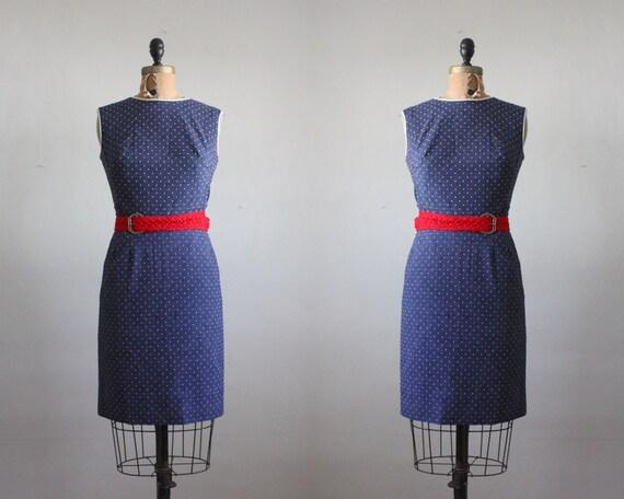 1960's polka dot dress set