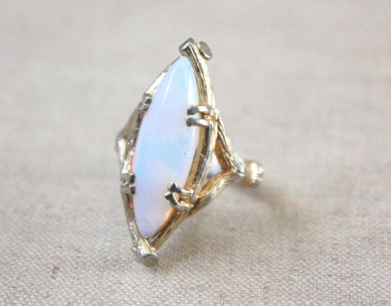 lunar opal ring