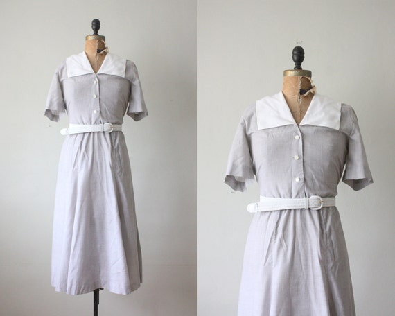 1970's summer shirtdress
