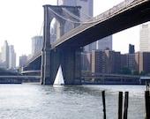 brooklyn bridge sailboat