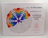 In the Garden Mandala Coloring Book
