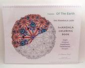 Of the Earth Mandala Coloring Book