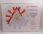 Geometric Mandala Coloring Book