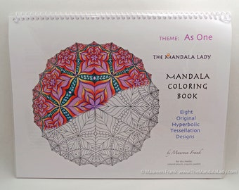 As One Mandala Coloring Book