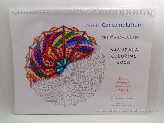 Contemplation Mandala Coloring Book