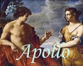 Apollo Perfume Oil - 5ml Vanilla musk, vanilla, cardamom and frankincense