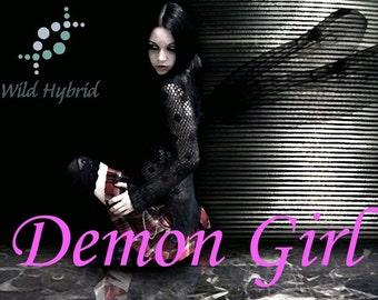 Demon Girl Perfume Oil - 5ml Pink bubblegum, sugar, pink musk, vanilla and a waft of ritual incense smoke.