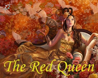 The Red Queen perfume oil - 5ml - Nag champa, holy basil, amber, vanilla, ripe red raspberries and red carnations