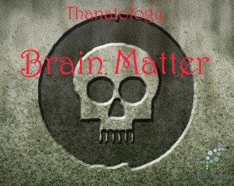Brain Matter Perfume Oil - 5ml Vanilla syrup and white peach flesh