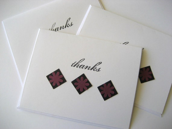 Simply Thanks Set of 8 Note Cards