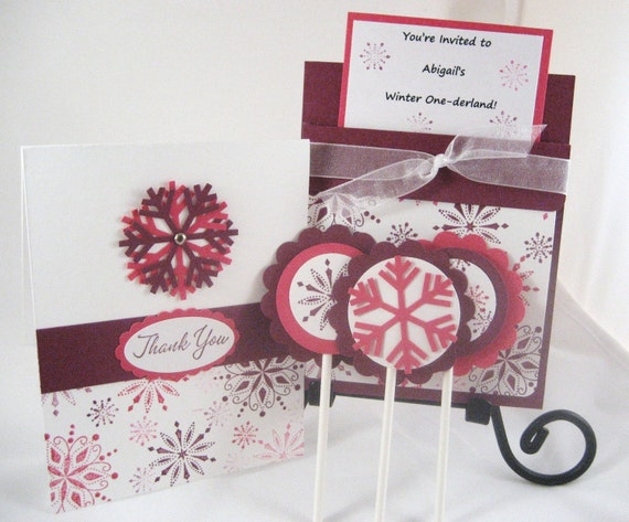 Winter ONEderland Party Package - set of 10
