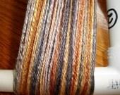 Tencel yarn in Molten Metal colorway