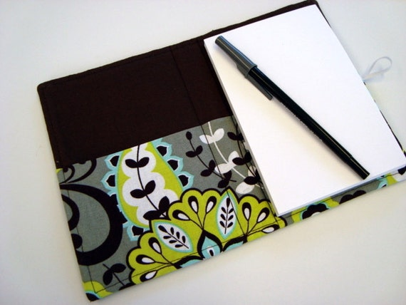 Honey Do List, Grocery List Taker/ Comes with- Note Pad and Pen- Lime Floral