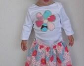 Garden Girls Ruffle Skirt and Top Set - Size 2 years